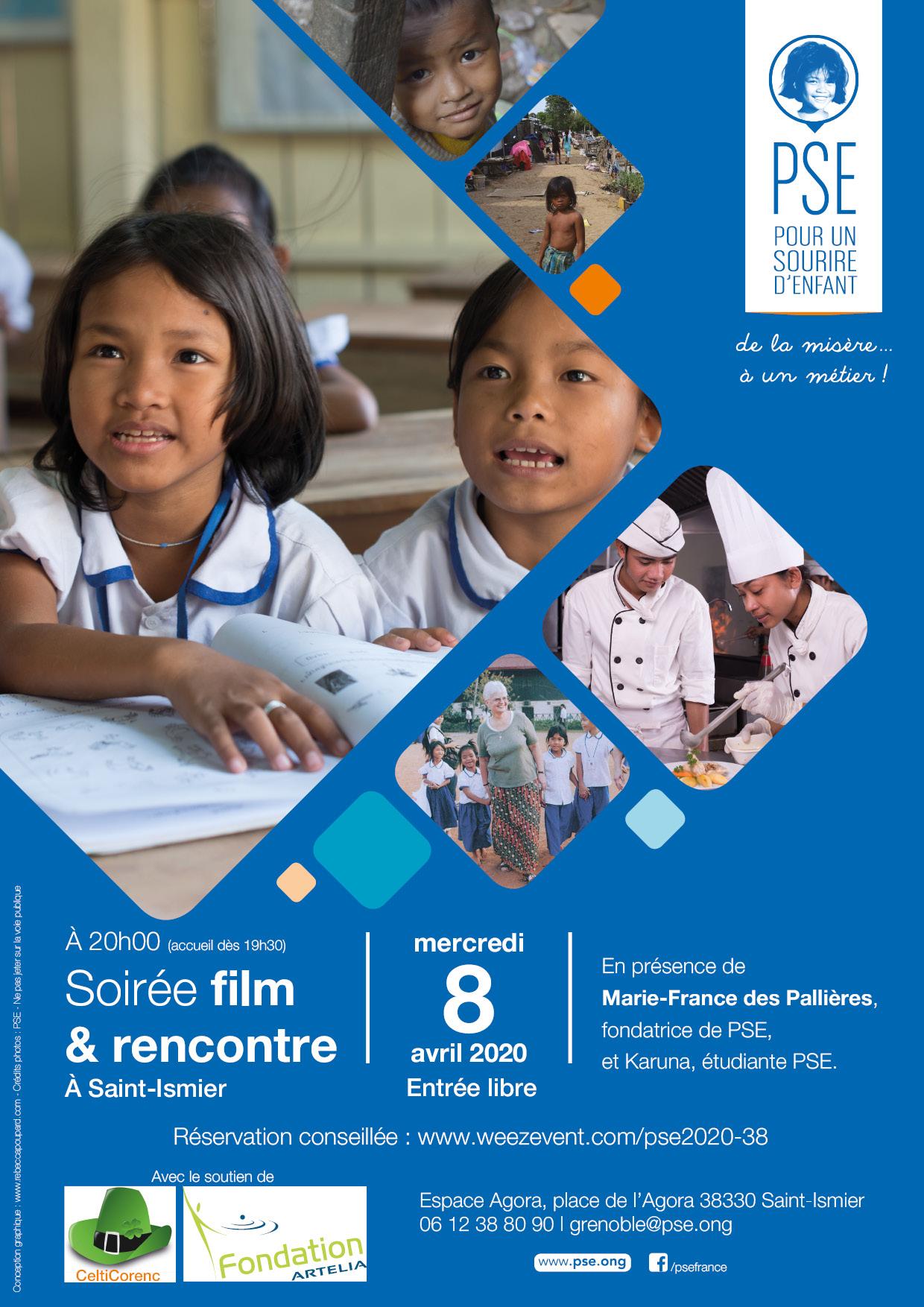 Affiche Tournée 2020 Saint Ismier