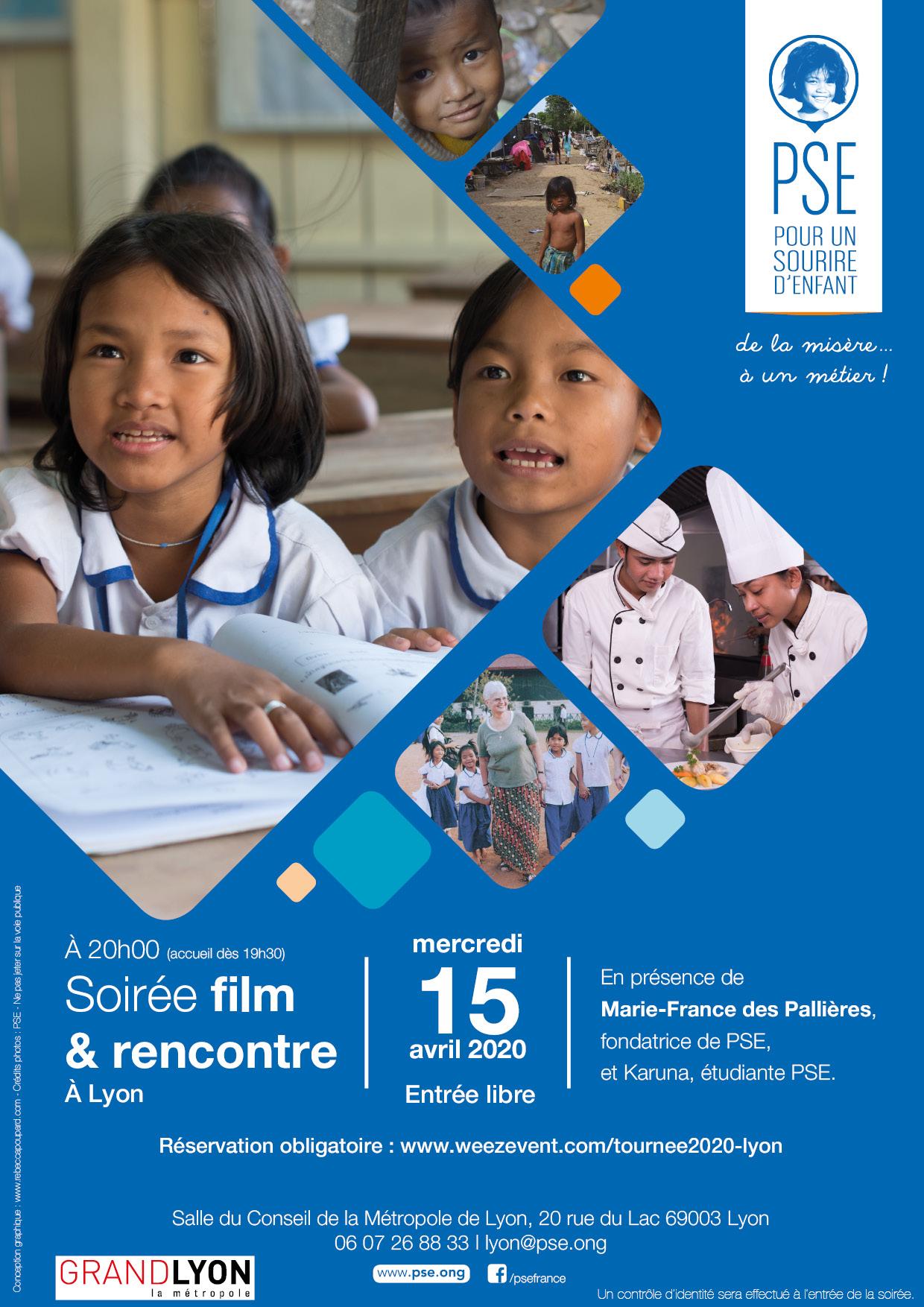 Affiche Tournée 2020 Lyon