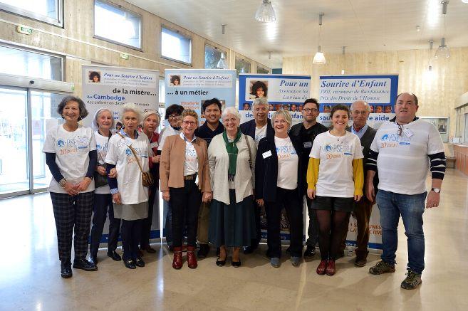 Equipe des bénévoles de l'antenne Auvergne