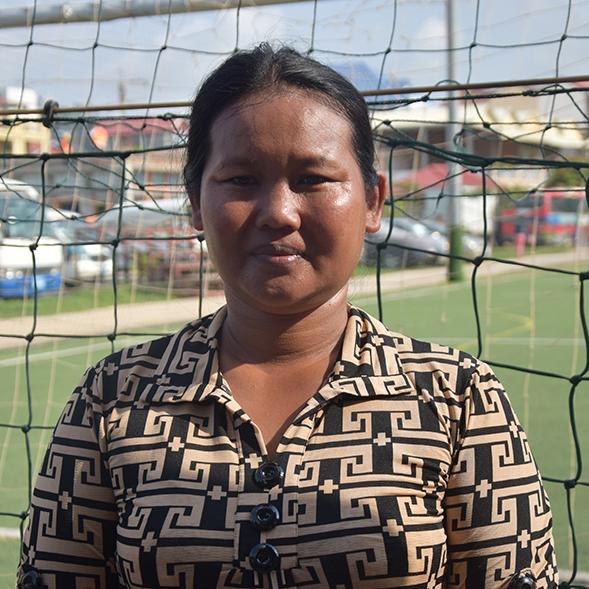 Sophea, mère de famille aidée par PSE