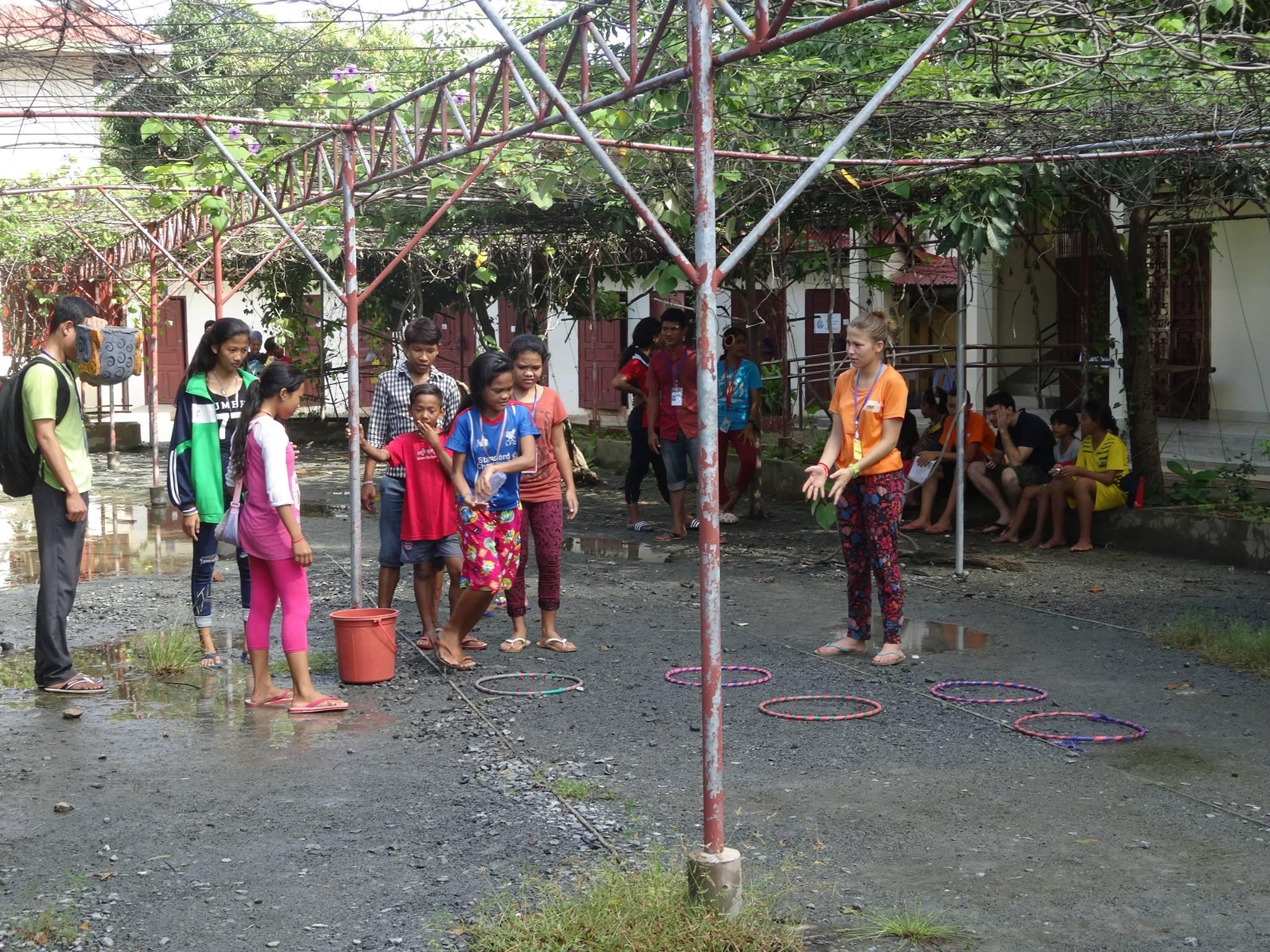 Les enfants profitent du weekend pour faire plein de jeux