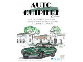 Affiche exposition de voitures de collection au profit de PSE