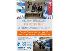 Affiche du Forum des Associations de Versailles