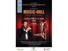 Affiche du spectacle de Music Hall
