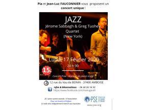 Affiche concert de jazz