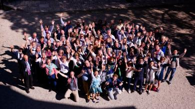 Les bénévoles de PSE lors de la Journée des Antennes en 2016