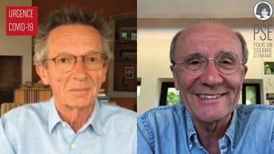 Geluck et Leconte s'engagent pour PSE !