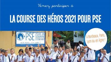 Venez participer à la Course des Héros 2021 pour PSE !
