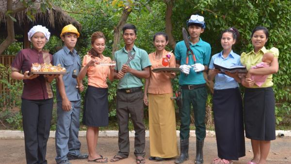 Les formations professionnelles proposées à PSE représentées par les élèves