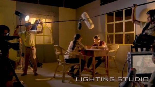 Studio d'éclairage