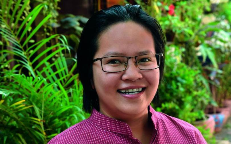 Leakhéna des Pallières, aujourd'hui directrice générale de PSE