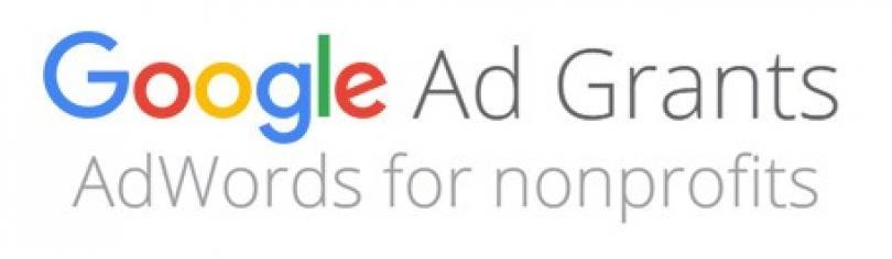 Logo de Google Ad grants pour les associations