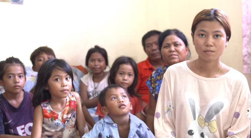 Sreymab et sa famille