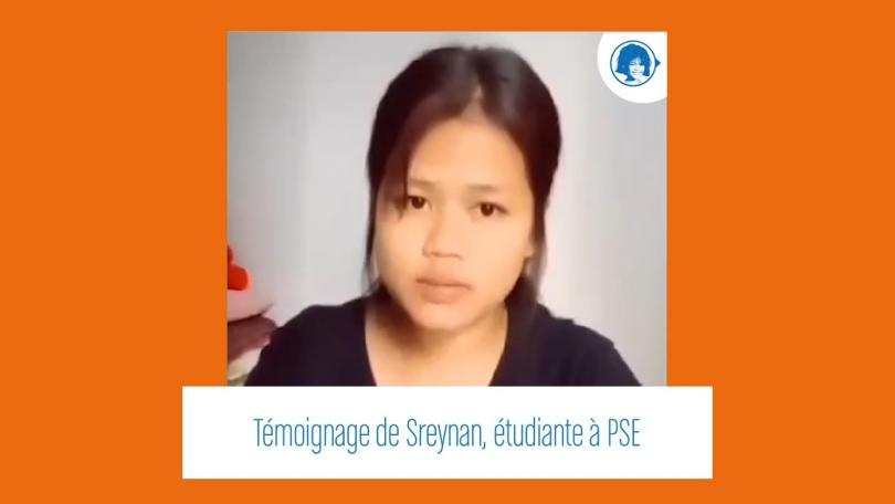 Sreynan, étudiante à PSE, témoigne de son quotidien bouleversé par la crise sanitaire