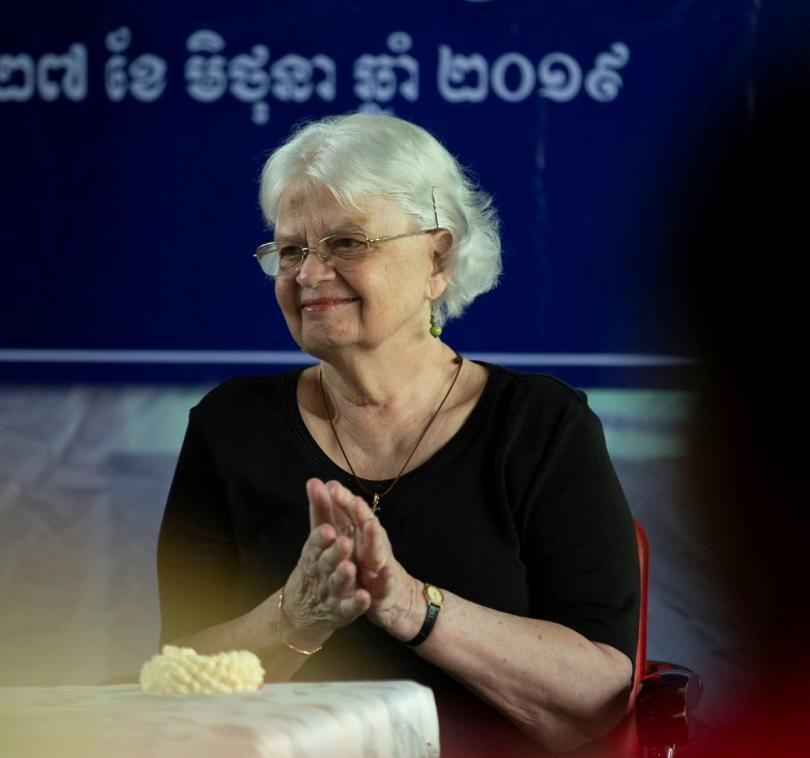 Marie-France des Pallières, fondatrice de PSE