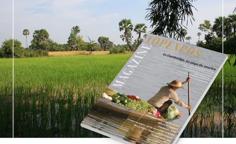 Magazine Topexpos consacré au Cambodge