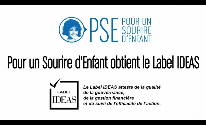 PSE obtient le Label IDEAS