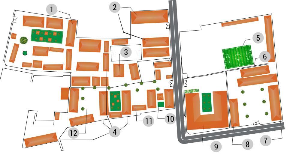 Plan du centre PSE de Phnom Penh