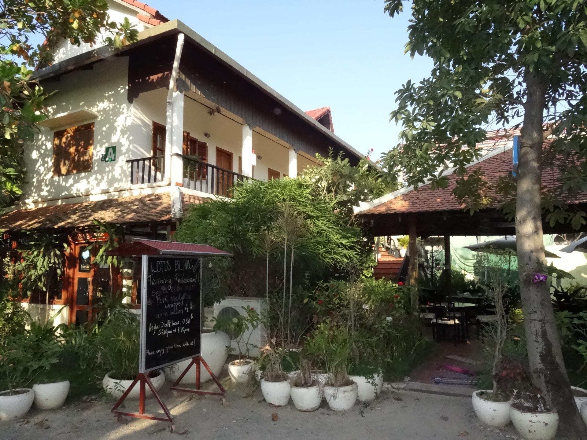 Le Lotus Blanc, hôtel et restaurant d'application