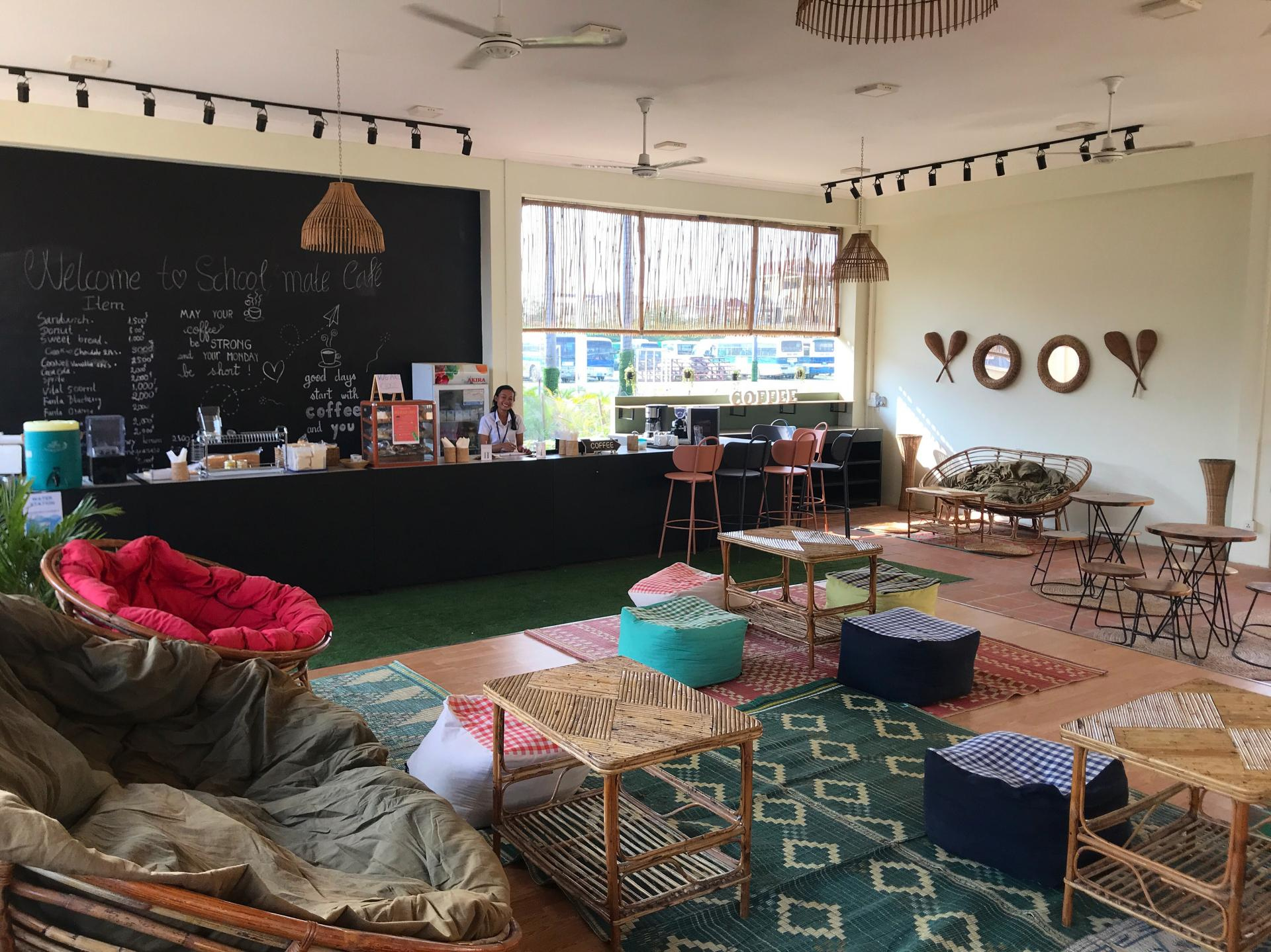 Le Coffe Shop, café géré par nos étudiants